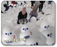 Бизнес на рассылке снега.