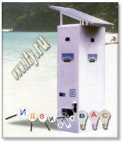 Бизнес-обзор. Торговый автомат на солнечной энергии от Solar Energy Vending.