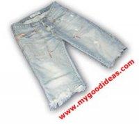 Надписи на джинсы, футболки и трусы :-) с помощью струйного принтера и   акрилового маркера.