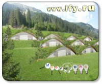Бизнес идея: Подземный отель в горах