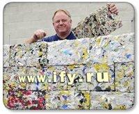 Кирпичи из пластиковых отходов