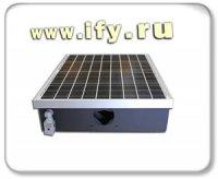 Энергосберегающие светодиодные фонари с питанием от солнечных батарей