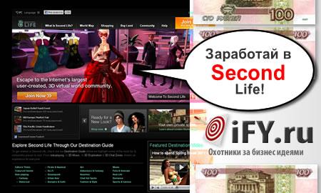 Бизнес идея: «Вторая жизнь» в виртуальном мире