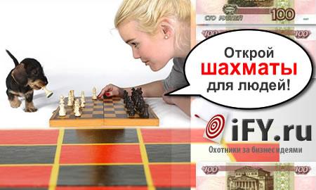 Бизнес идея: Открытие шахматного клуба