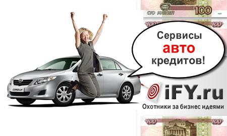 Сервис автокредитования в Банках Москвы