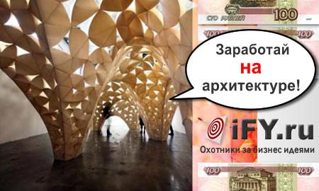 Бизнес идея дизайна архитектуры