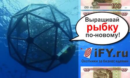 Акваподы - самый экологичный способ разведения рыбы