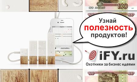 Приложение для iPhone позволит проверить натуральность продуктов