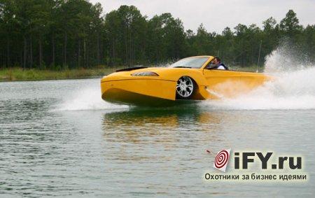 Бизнес – идея: переделай кабриолет в катер!