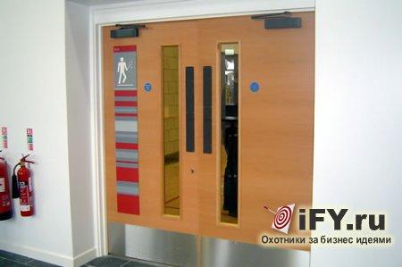 Бизнес идея: установка и производство противопожарных дверей