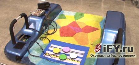 Бизнес-обзор: Волшебный коврик для детей-инвалидов
