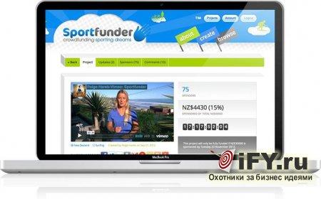 Откройте свой спортивный бизнес с помощью Sportfunder