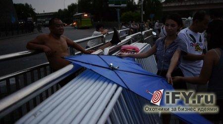 Бизнес из Пекина: Запуск воздушного змея для экологии!