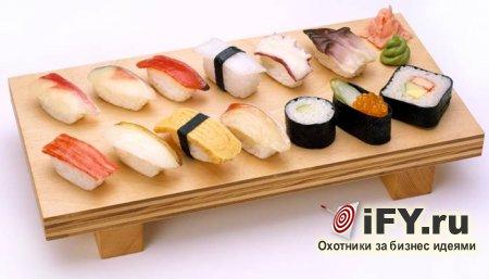 Бизнес идея: изготовление и продажа суши