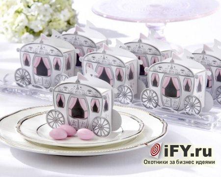 Идея для бизнеса: свадебные бонбоньерки и их изготовление