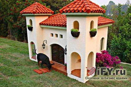Сказочные домики для собак