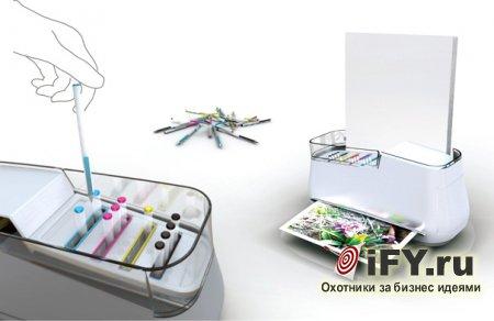 Бизнес идея: Цветной эко-принтер